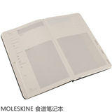 Блокнот Moleskine Passion Recipe Large 130х210мм 240стр твердая обложка черный (PHRC3A)