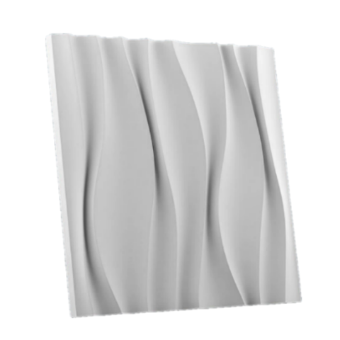 Гипсовая 3Д панель Водопад