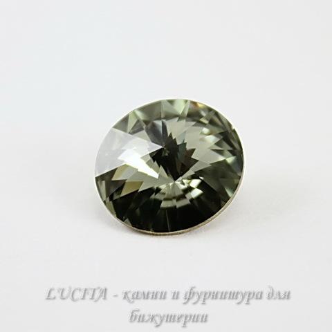 1122 Rivoli Ювелирные стразы Сваровски Black Diamond (14 мм) ()