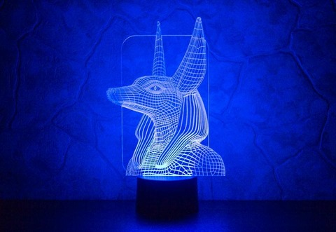 3D ночник Анубис