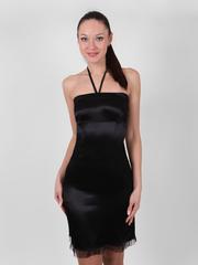 8408 платье, черное