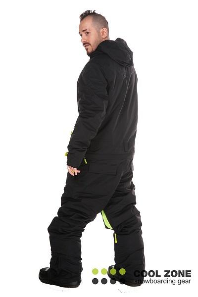 Сноубордический комбинезон мужской Cool Zone черный