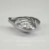 Бусина металлическая в виде сердца- большая (цвет - античное серебро ) 25х24 мм
