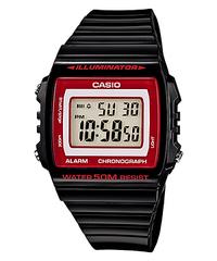 Мужские электронные часы Casio W-215H-1A2V