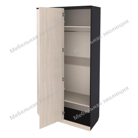 Угловой терминальный шкаф со штангой и полками, Эволюция