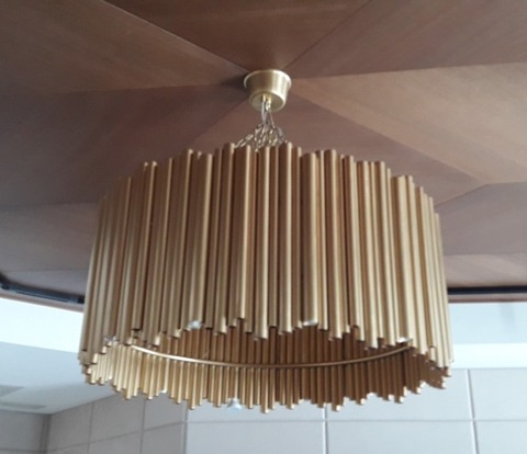 BRUBECK  chandelier by Art metal