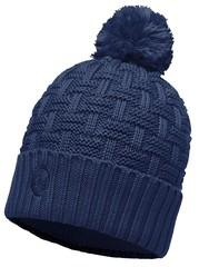 Вязаная шапка с флисовой подкладкой Buff Airon Dark Denim