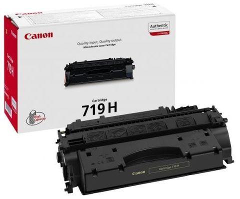 Картридж Canon 719H для Canon i-Sensys LBC251, LBP253, LBP6300DN, Canon i-Sensys LBP6650DN, Canon i-Sensys MF5940DN, Canon i-Sensys MF5980DW. Ресурс 6400 стр. (3480B002)