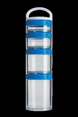 BlenderBottle GoStak Starter, 4к. (40мл, 60мл, 100мл, 150мл) Контейнеры для перекусов и еды Тритан