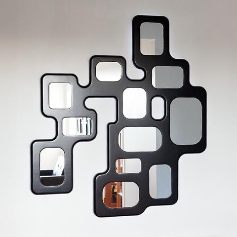 дизайнерское зеркало с подсветкой SUPER LUCIDO  ( by MAGIC MIRROR )