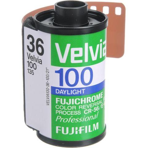Фотопленка Fujifilm Velvia 100/135-36