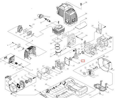 Вал коленчатый для лодочного мотора T3,5 Sea-PRO
