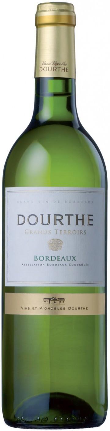 Вино Дурт Гран Терруар Бордо защ.наим. бел. сух. 0,75 л Франция