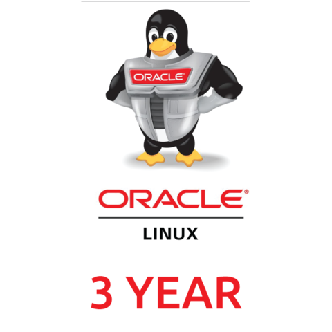 Сертификат на техническую поддержку Oracle Linux Premier (3 Year Support)