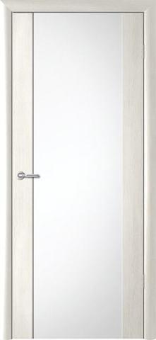 > Экошпон Фрегат ALBERO Сан-Ремо 1, стекло триплекс белый, цвет кипарис белый, остекленная