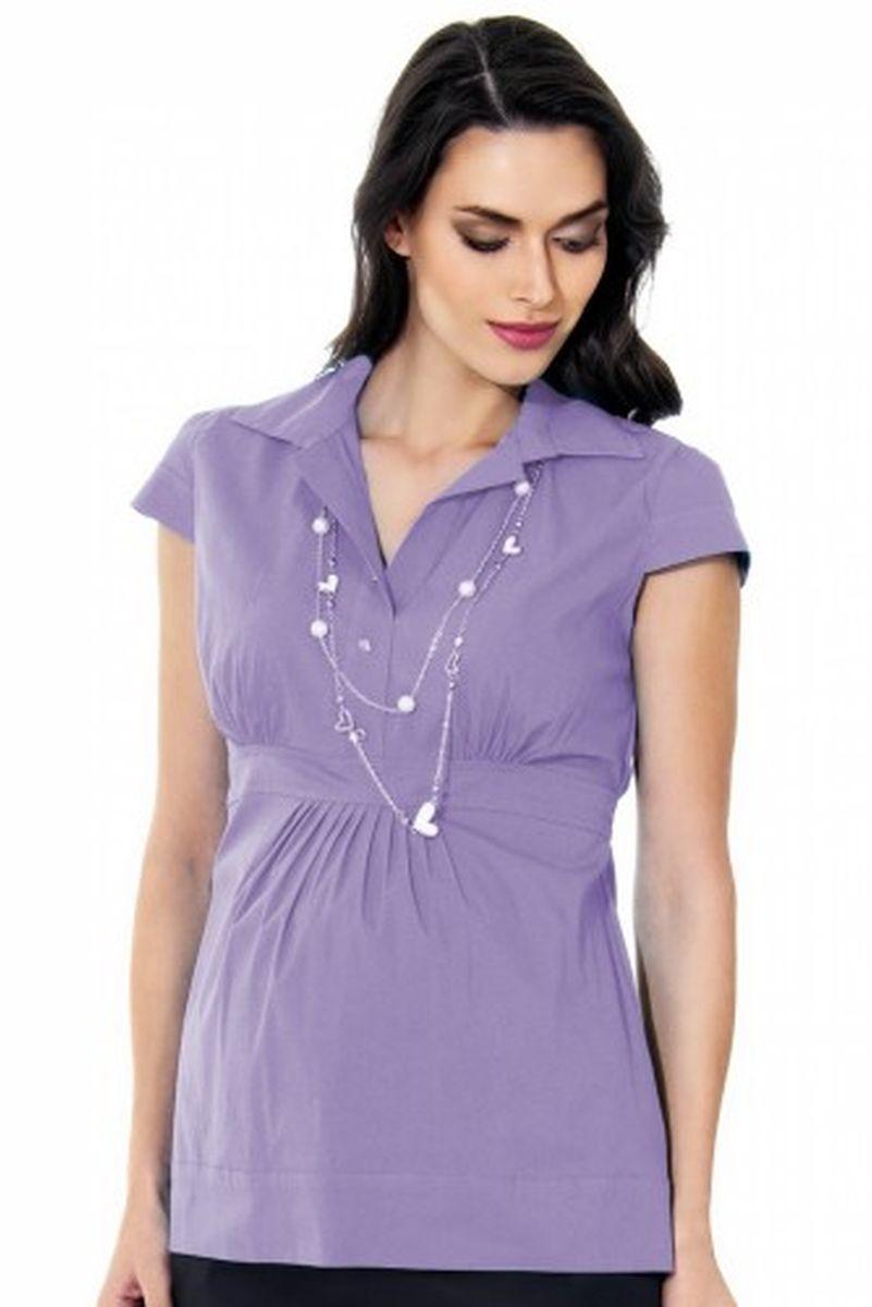 Блузка для беременных 01314 фиолетовый