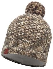 Вязаная шапка с флисовой подкладкой Buff Margo Brown Taupe