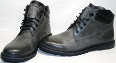 Модные зимние ботинки мужские Ikoc 3620-3 S