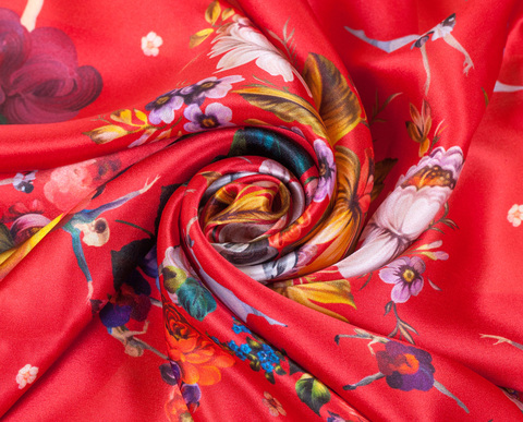 Silk scarf Carmen HC01D231118001