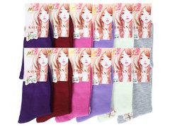 CE5011 носки подростковые 35-41, (12шт) цветные