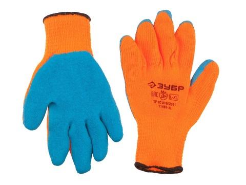 ЗУБР УРАЛ, размер L-XL, перчатки утепленные акриловые.