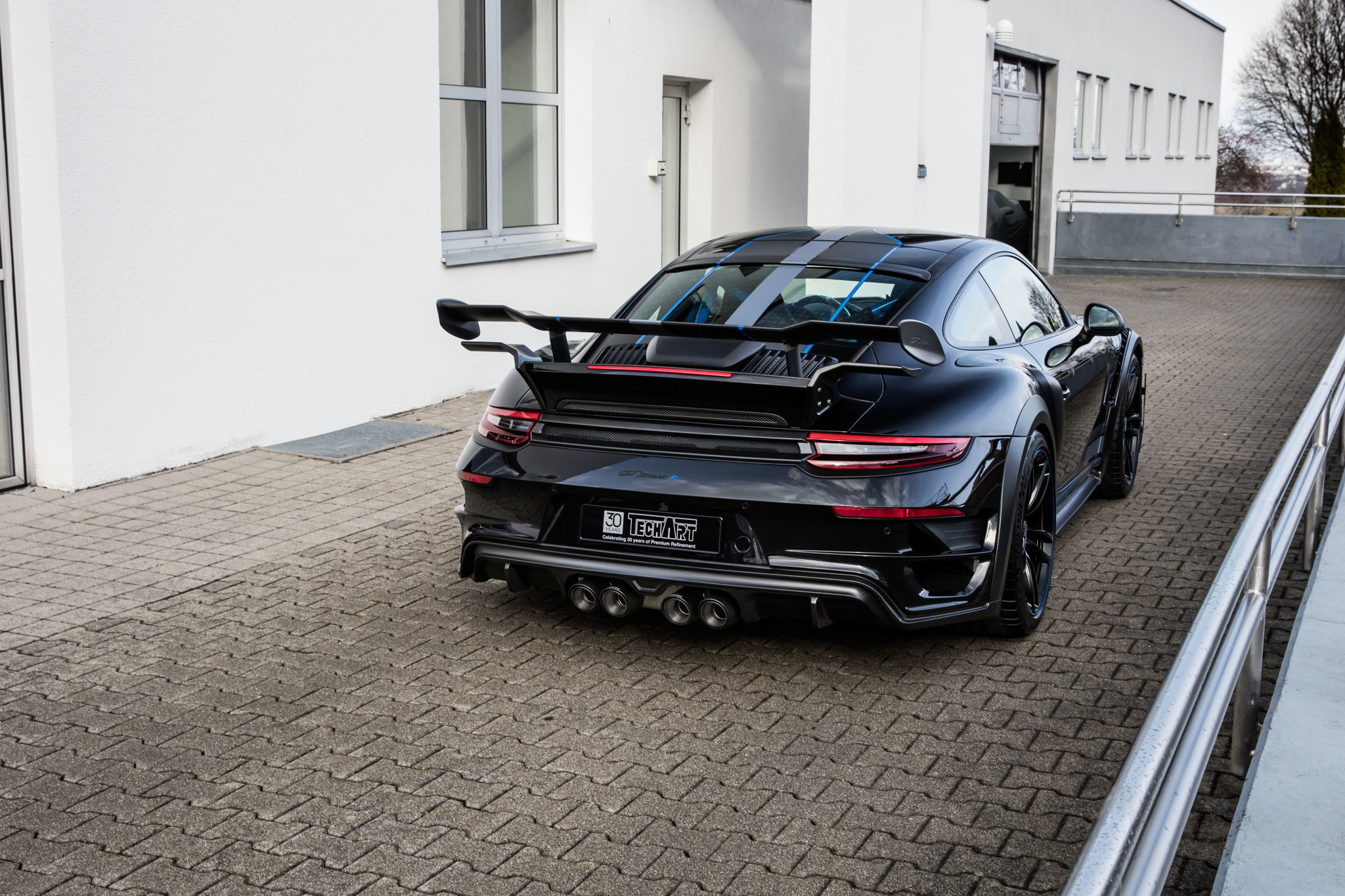 Techart body kit for Porsche 911 GTstreet R