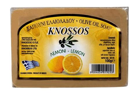 Оливковое мыло с лимоном Knossos 100 гр