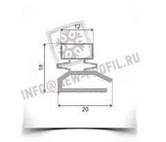Уплотнитель для холодильника Орск 212 (морозильная камера) Размер 27*56(57)см Профиль 012/013