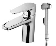 Смеситель для умывальника AM.PM Inspire F5004000 с ручным душем