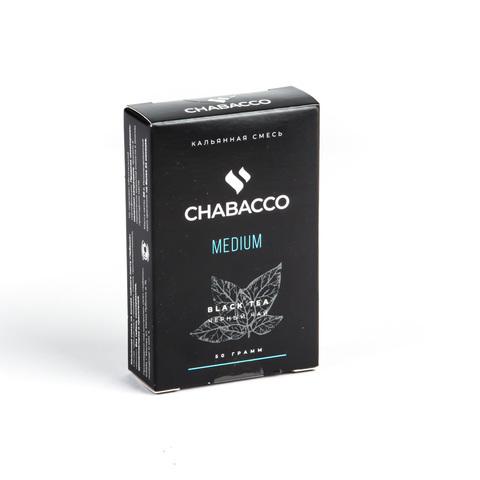 Кальянная смесь Chabacco - Black Tea (Черный чай) 50 г