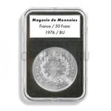 Прямоугольные капсулы EVERSLAB для монеты диаметром 16 mm