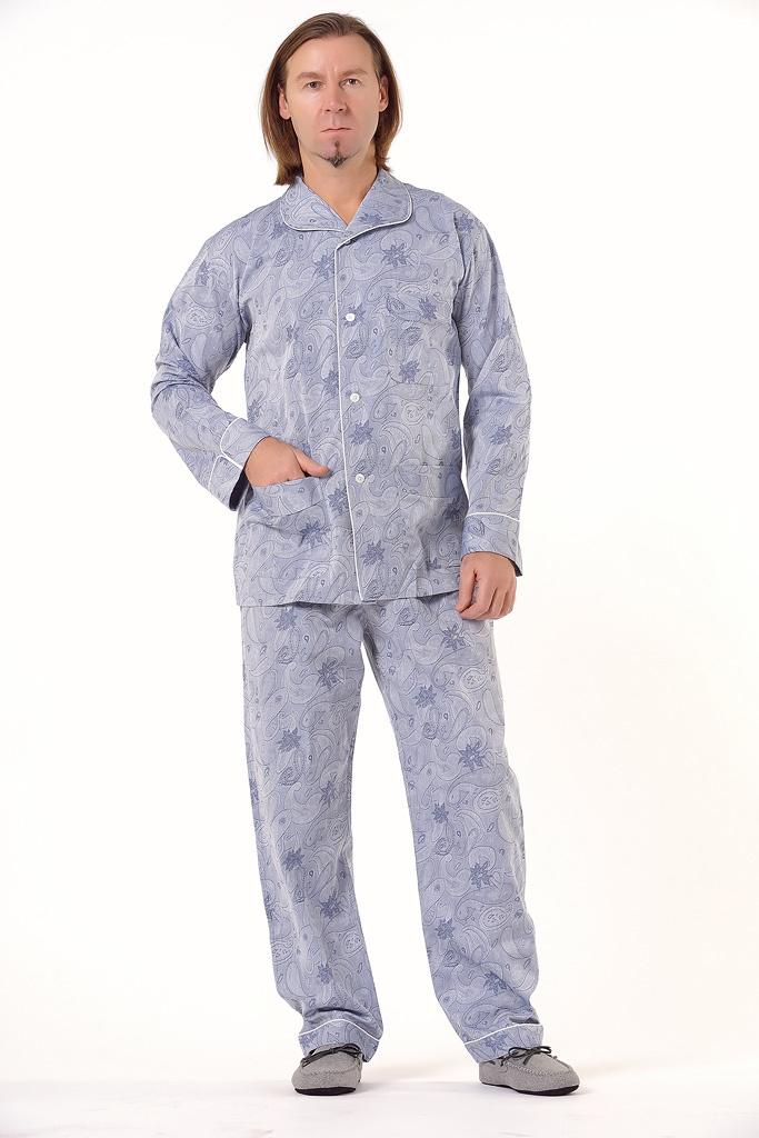 Мужская пижама с узором Zimmerli