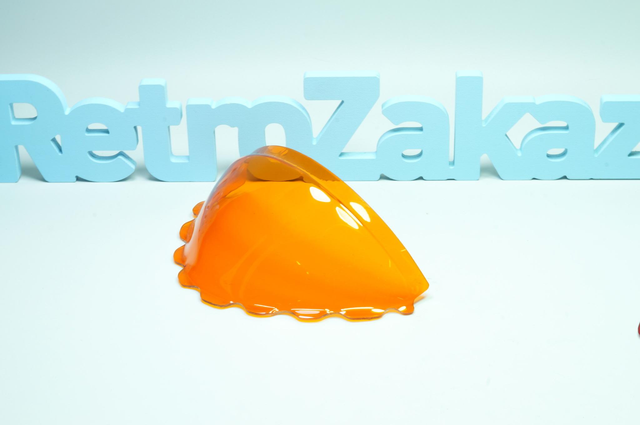 Оранжевая сфера спидометра Газ 21