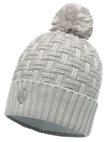 Вязаная шапка с флисовой подкладкой Buff Airon Mineral Grey