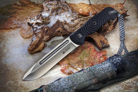 Туристический нож Maximus AUS-8 StoneWash