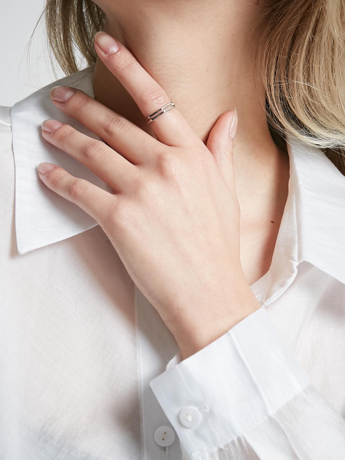 Кольцо Ромб