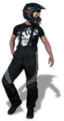 Sweep Avalanche брюки, черный/серый
