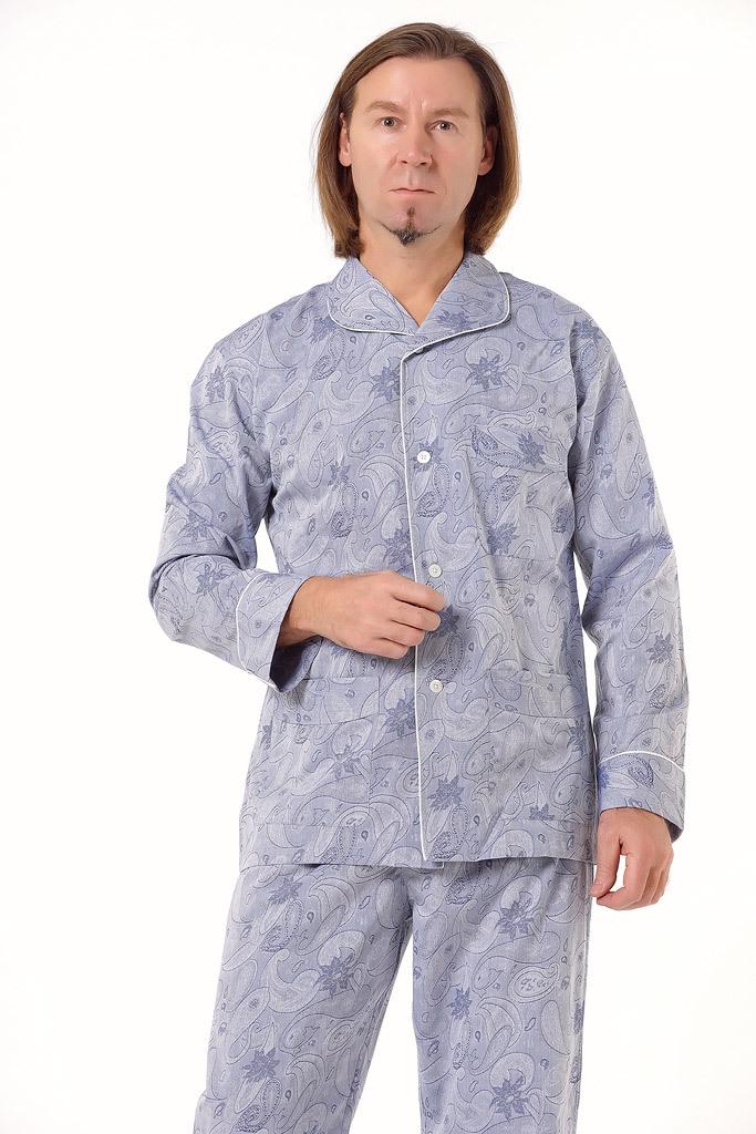 Мужская пижама с узором Zimmerli (Домашние костюмы и пижамы)