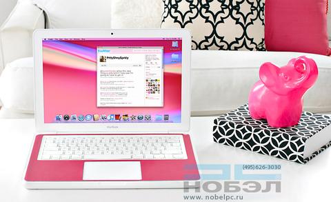 Накладка на корпус Twelve South SurfacePad Color Leather for MacBook Pro 13 кожа, розовый цвет
