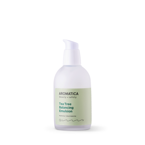 Эмульсия-лёгкий крем для жирной/проблемной кожи, 100 мл / Aromatica Tea Tree Balancing Emulsion