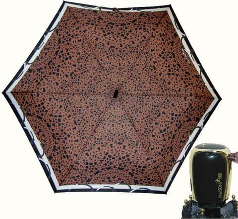 Купить онлайн Зонт мини Maison Perletti 16225-br Lace design bordo в магазине Зонтофф.