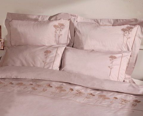 Постельное белье 1.5 спальное Bovi Гербарий лаванда