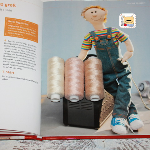 Набор швейных ниток для тела кукол 40/2 (3 цвета) НН25