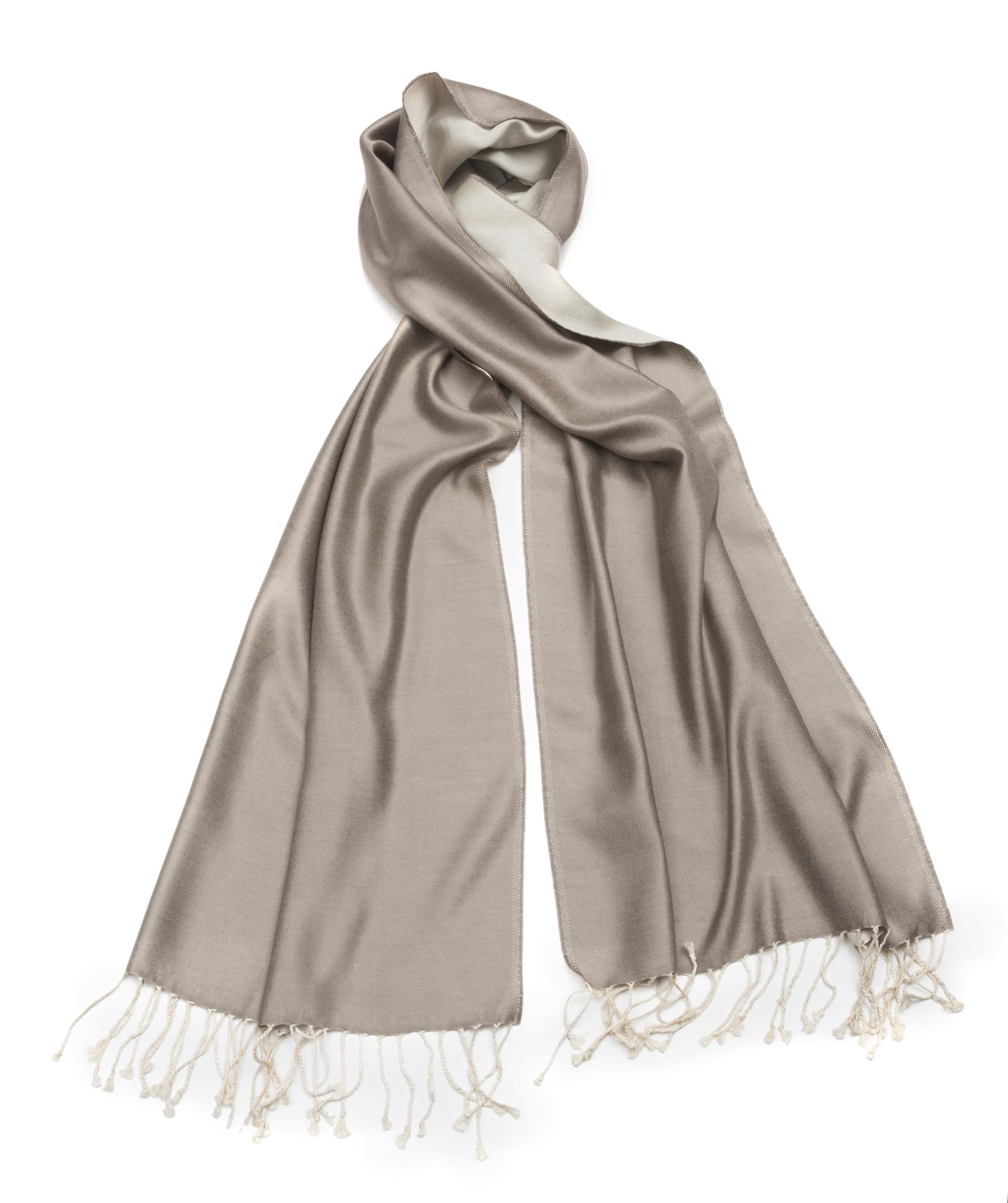 Плед-шарф 50х180 AM Paris Paraty серый