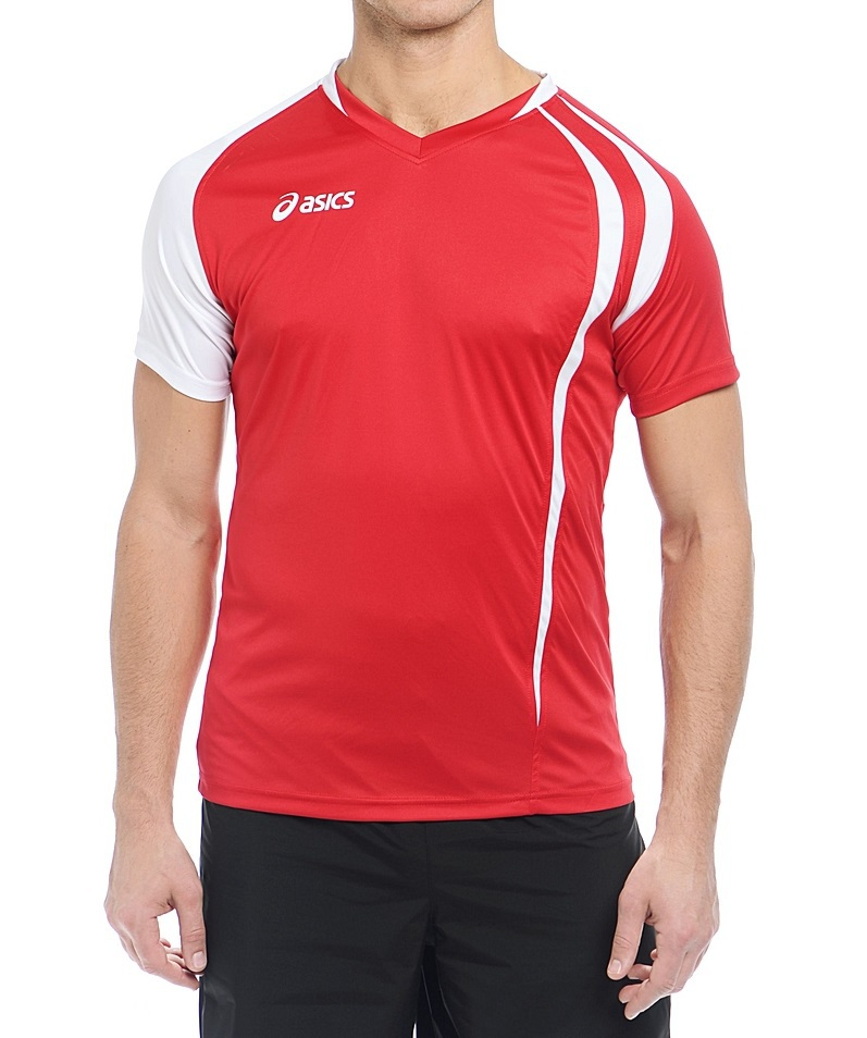 Мужская волейбольная футболка ASICS T-SHIRT FAN MAN (T750Z1 2601) фото
