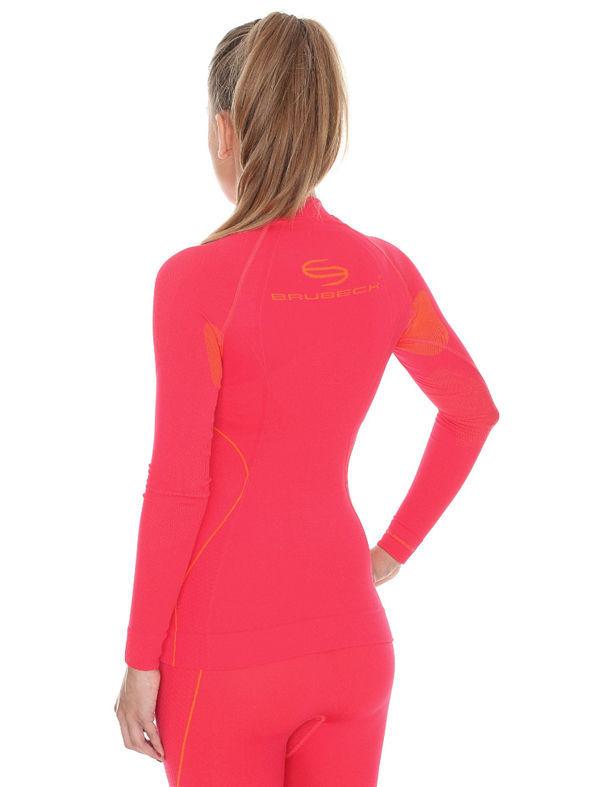 Женское термобелье рубашка Brubeck Thermo BodyGuard (LS10670) малиновая