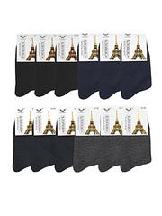 A100 носки мужские, цветные 42-48 (12 шт)