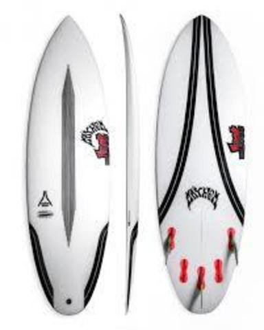 "Серфборд LOST 6'4"" QUIVER KILLER CARBONWRAP RD FCS2 5 FIN"