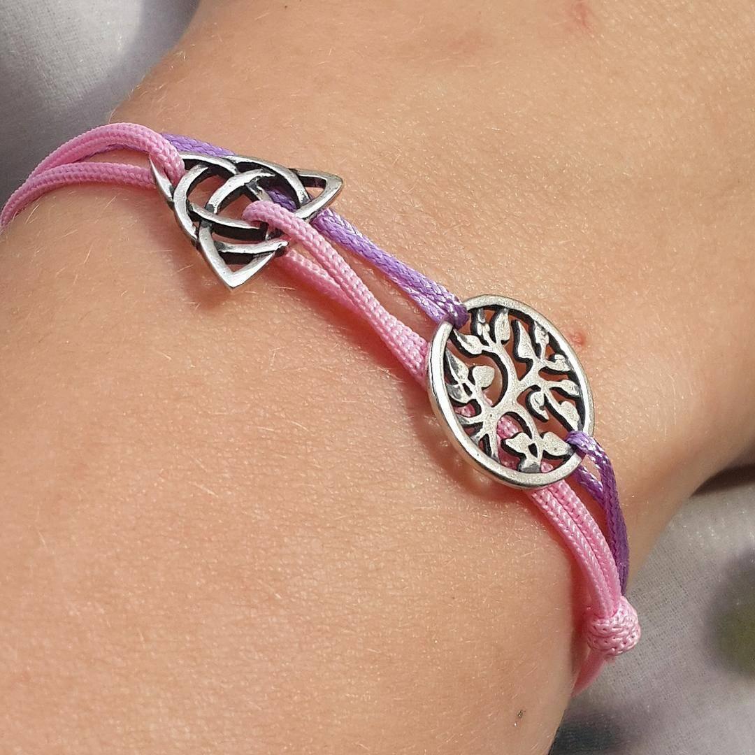 Triquetra Bracelet, sterling silver