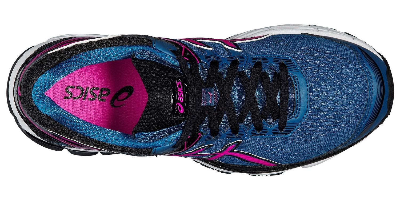 Женские кроссовки для бега Asics GT-1000 4 (T5A7N 5335) синие фото сверху